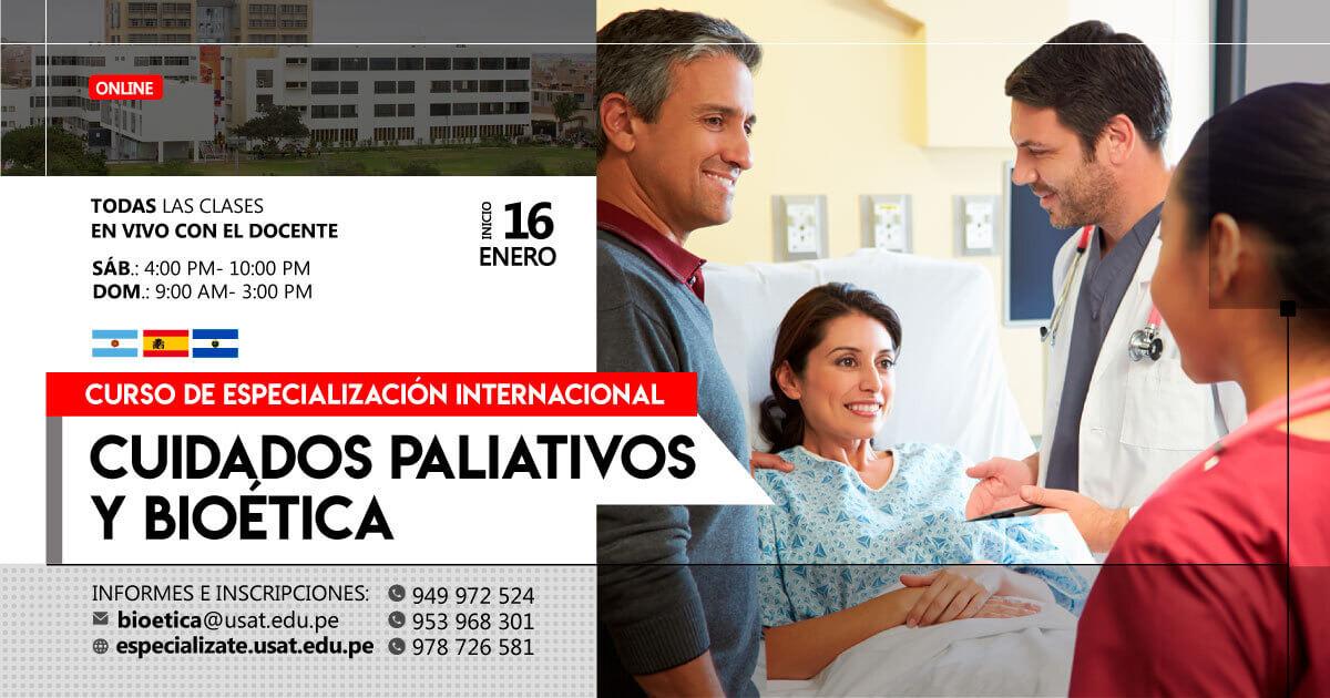 Curso de Especialización Internacional de Cuidados Paliativos y Bioética