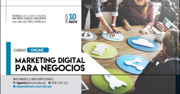 Curso: Marketing Digital para Negocios