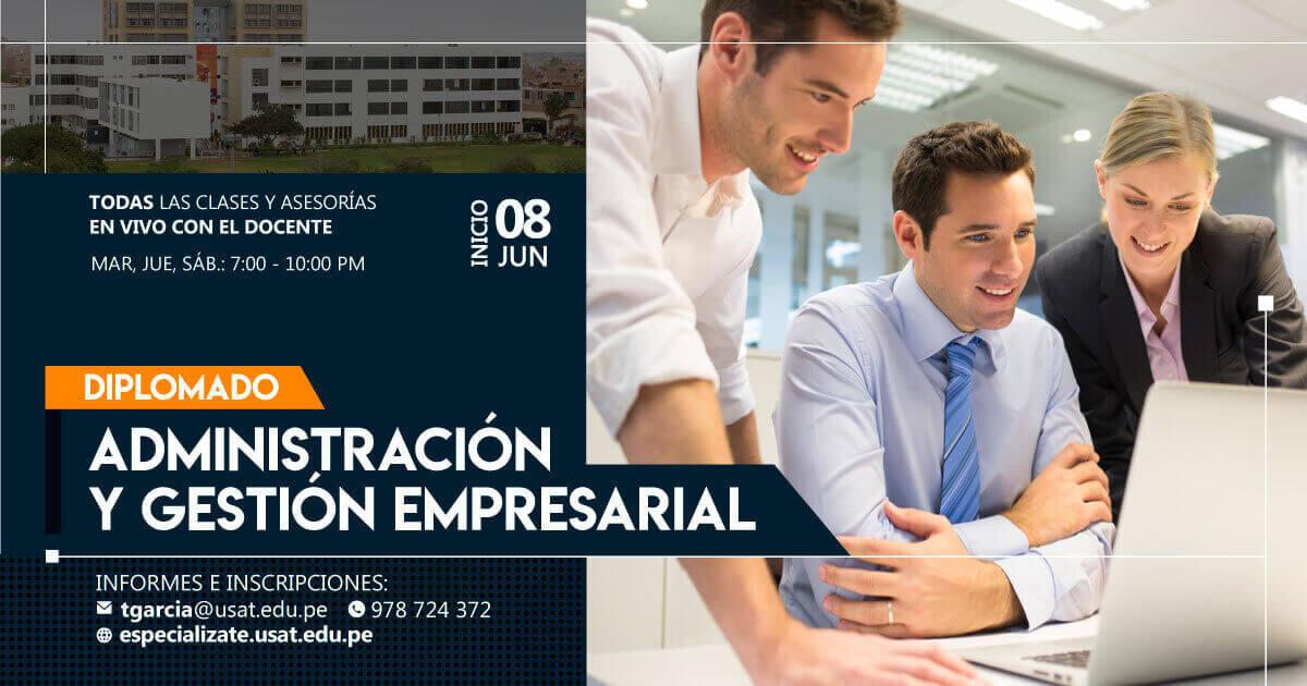 (NO VIGENTE) Diplomado de Educación Continua en Administración y Gestión Empresarial