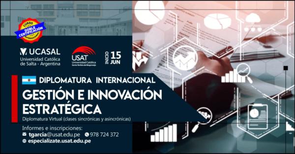 Diplomatura Internacional Virtual Gestión e Innovación Estratégica