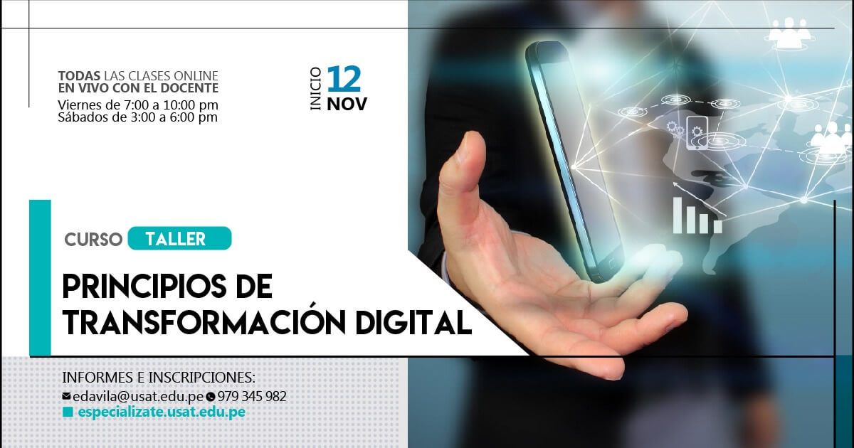 Curso taller:  Principios de Transformación Digital